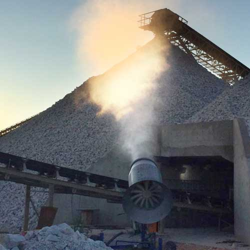 Dust Misting Cannon